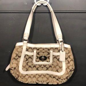 Coach purse 13 1/2 long 9 tall 6 wide